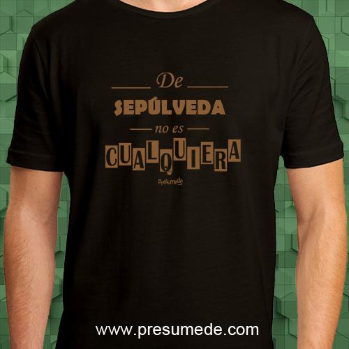 Camiseta De Sepúlveda no es cualquiera