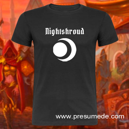 Camiseta Gloomhaven Nightshroud