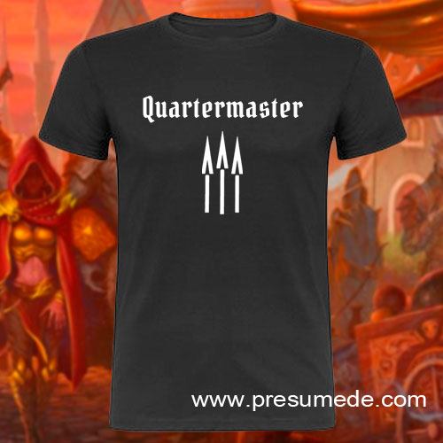 Camiseta Gloomhaven Quartermaster