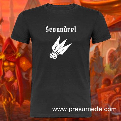 Camiseta Gloomhaven Scoundrel