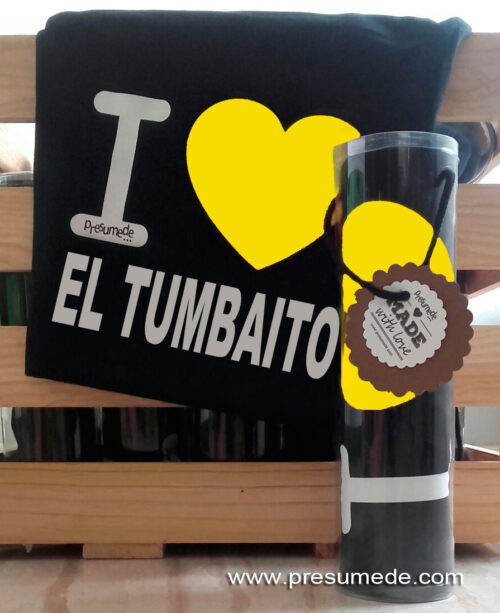 Camiseta I Love El Tumbaito