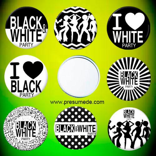 Espejos Black and White