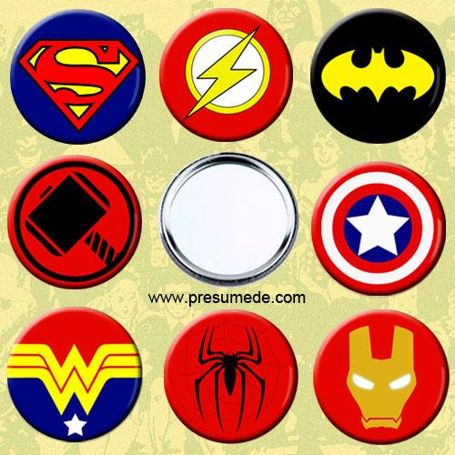 Espejos superhéroes