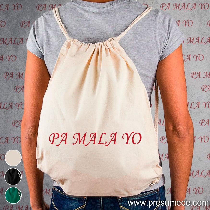 Mochila PA MALA YO