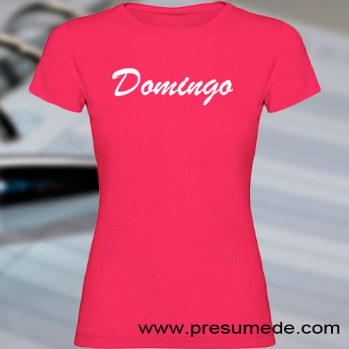 Camiseta Domingo