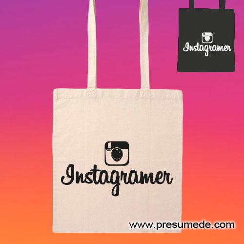 Bolsa de algodón Instagramer