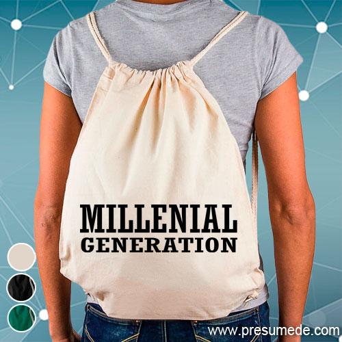 Mochila millenial generation