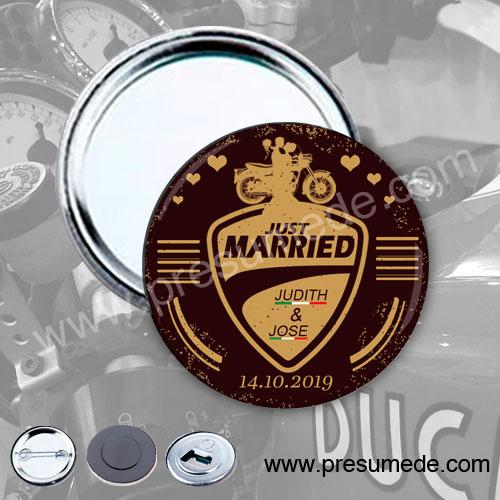 Espejos para boda Ducati