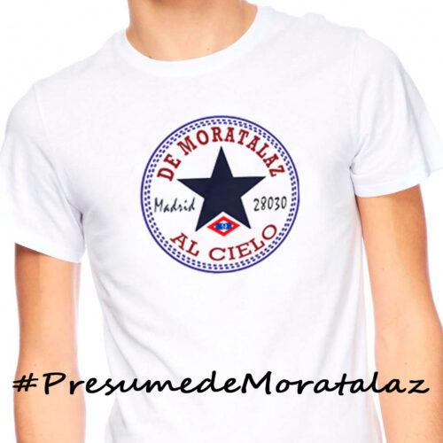 Camiseta de Moratalaz al cielo