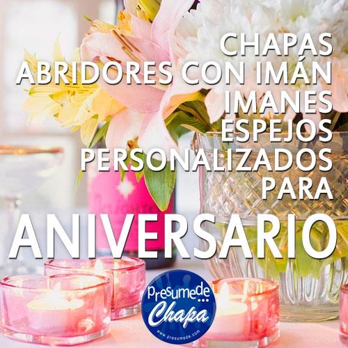 Detalles para aniversario de boda