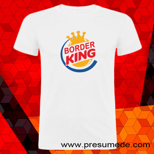 Camiseta border king