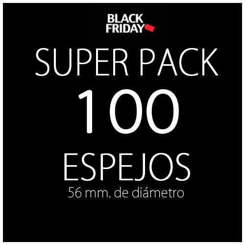 Pack black 100 espejos