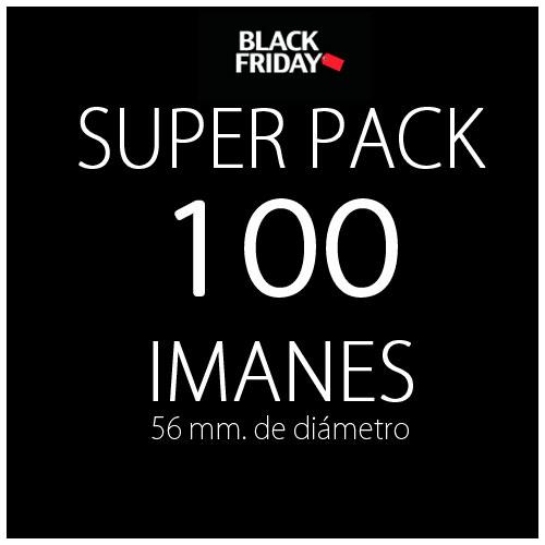 Pack black 100 imanes
