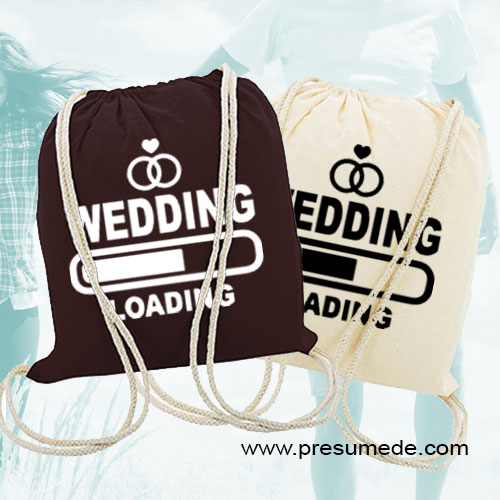 Mochila para boda wedding loading