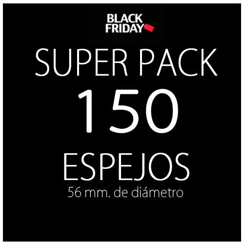 Pack black 150 espejos