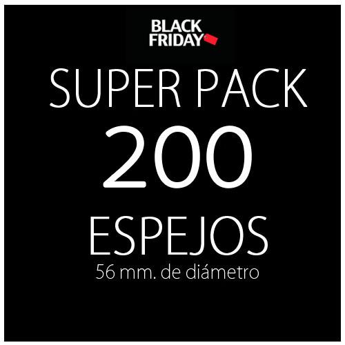 Pack black 200 espejos