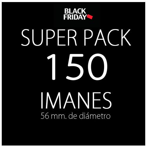 Pack black 150 imanes